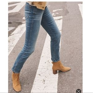 Madewell Stovepipe Highrise Jeans. Size 26